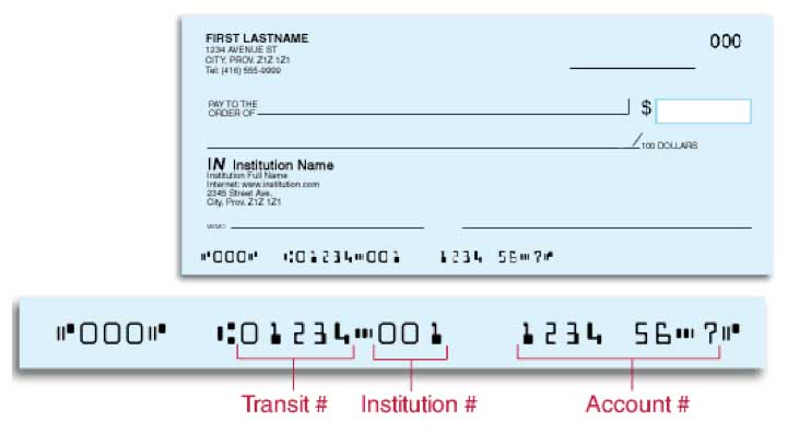Bank of Montreal (BMO) Cheque